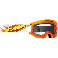 YOUTH 100% FMF ASSAULT GOGGLES 2021 GREY COLOUR - CLEAR LENS