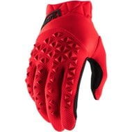 100% GLOVES AIRMATIC 2021 COLOUR RED/BLACK