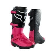 BOTAS MUJER FOX COMP BUCKLE 2021 COLOR NEGRO / ROSA