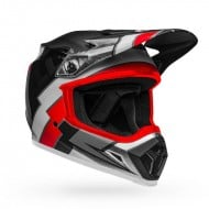BELL MX-9 MIPS TWITCH REPLICA HELMET COLOUR BLACK / RED / WHITE  MATTE
