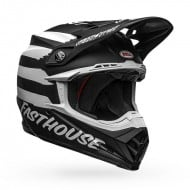 BELL MOTO-9 MIPS FASTHOUSE SIGNIA COLOUR BLACK / WHITE MATTE