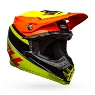 BELL MOTO-9 MIPS PROPHECY COLOUR YELLOW / ORANGE GLOSS