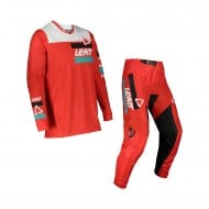 LEATT YOUTH COMBO JERSEY + PANT MOTO 3.5 2022 COLOUR RED