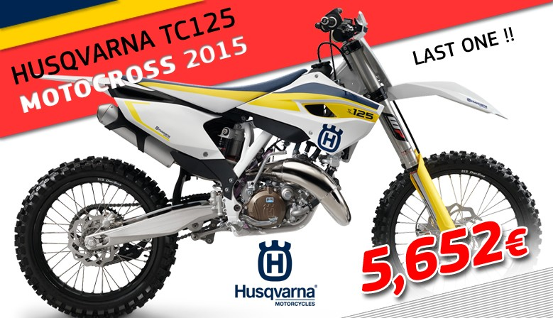 OFFER HUSQVARNA TC125 2015 !!