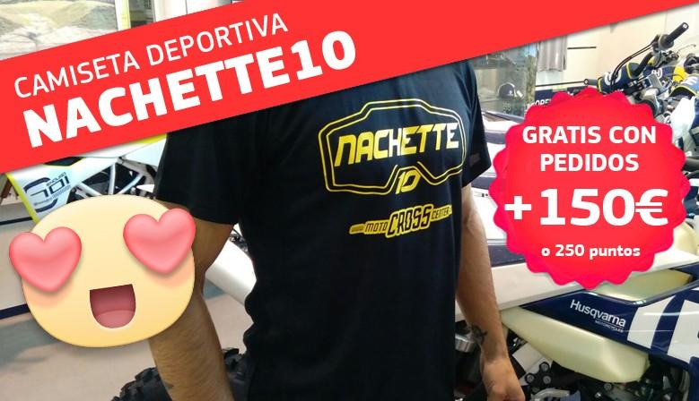 CAMISETA NACHETTE10 GRATIS EN PEDIDOS +150 EUROS