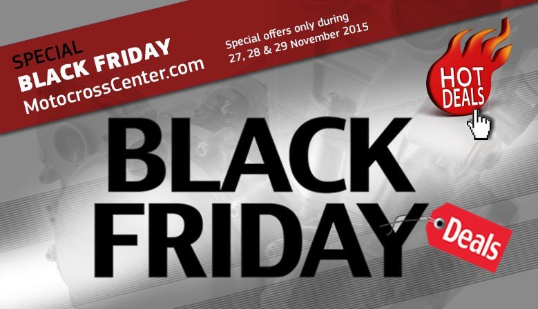 BLACK FRIDAY IN MOTOCROSSCENTER