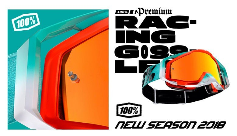 New Season 100% Goggles 2018