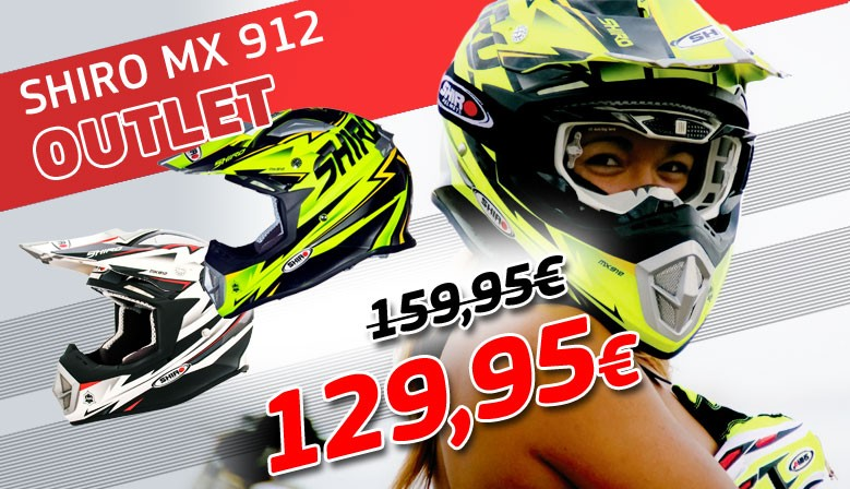 OUTLET SHIRO MX912 HELMETS
