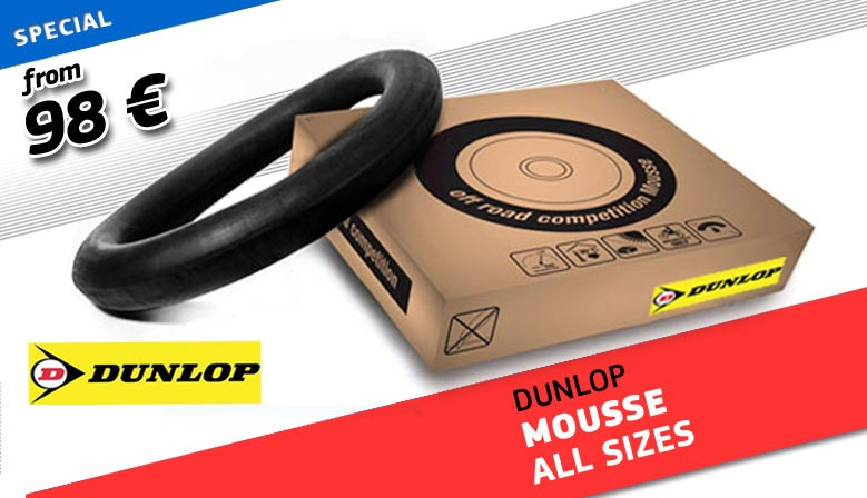 SPECIAL MOUSSE DUNLOP ALL SIZES