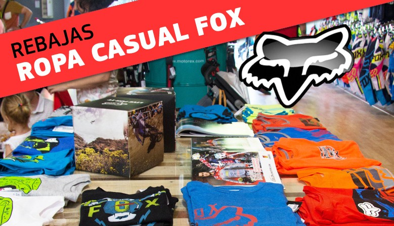 OUTLET ROPA CASUAL FOX 2017