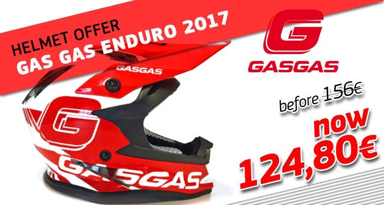 GAS GAS ENDURO 2017 HELMET