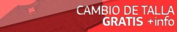 CAMBIO DE TALLA GRATIS
